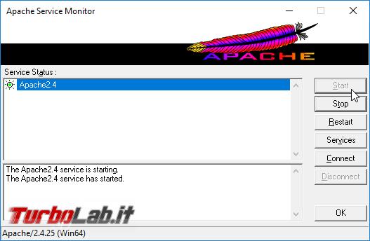 Guida server web: come installare/configurare PHP Apache Windows 10