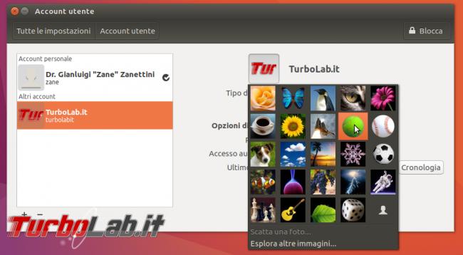 Guida Ubuntu: come creare/aggiungere nuovo account utente protetto password