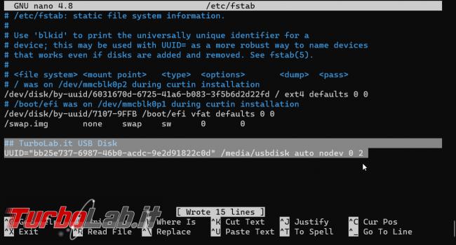 Guida Ubuntu: come montare automaticamente disco USB, SSD esterno chiavetta NTFS, ext4, exFAT ogni avvio (linea comando, Ubuntu Server)