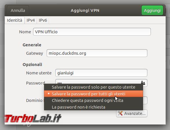 Guida Ubuntu VPN: come connettere PC portatile Ubuntu VPN aziendale