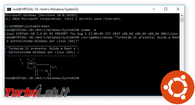 Guida: upload download via SSH (SFTP/SCP) Windows Linux, linea comando interfaccia grafica - bash windows 10 spotlight