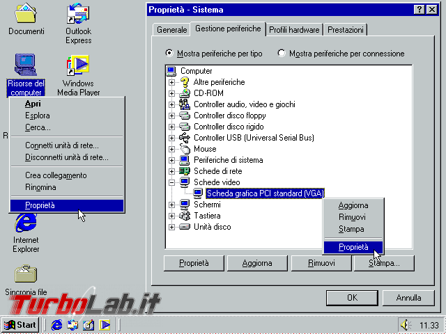 Guida VirtualBox: installare/configurare Windows 95/98/ME driver video funzionante ed alta risoluzione (macchina virtuale VM) - VirtualBox_Windows ME_30_09_2017_11_33_44