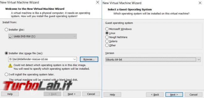 Guida VMware Player 14 - virtualizzazione gratuita facile tutti