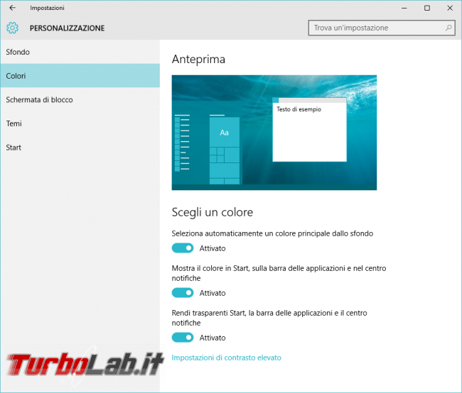 Guida Windows 10: 10 trucchi personalizzare menu Start
