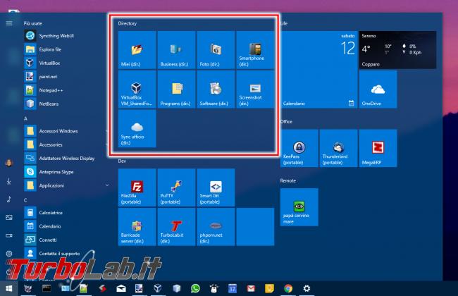 Guida Windows 10: 5 tecniche aprire rapidamente proprie cartelle preferite