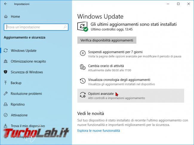 Guida Windows 10: come bloccare aggiornamento automatico driver Windows Update