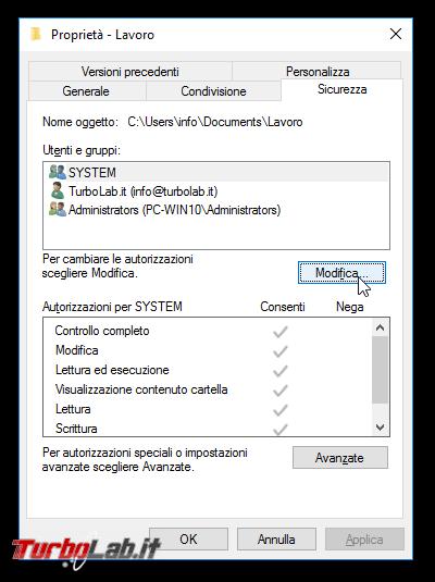 Guida Windows 10: come condividere file cartelle rete locale (LAN)