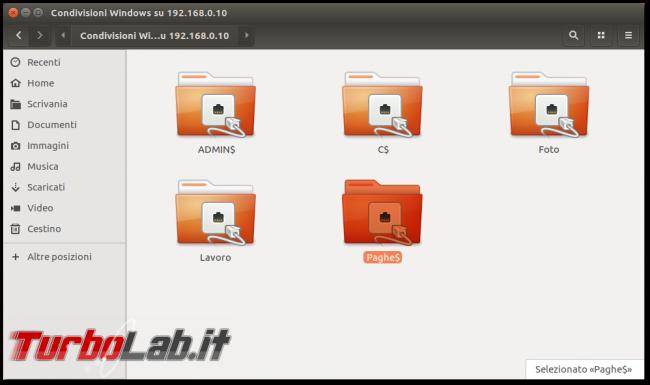 Guida Windows 10: come condividere file cartelle rete locale (LAN) - ubuntu smb client cartella condivisa rete
