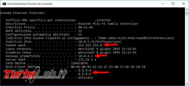 Guida Windows 10: come configurare manualmente indirizzo IP Windows