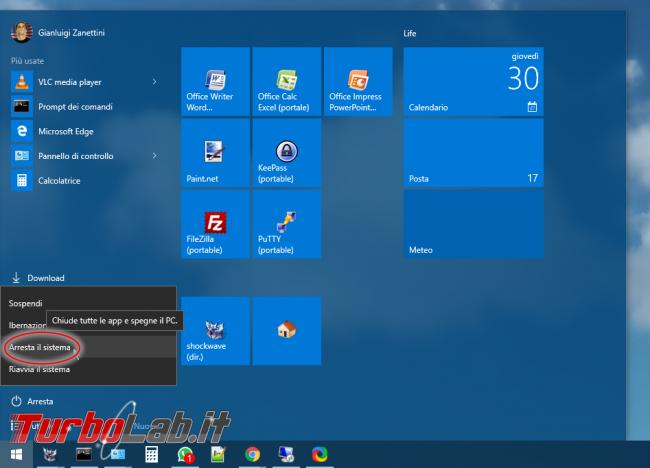 Guida Windows 10: come disattivare Avvio rapido (Fast startup / Fast boot) - Mobile_zShot_1467317450