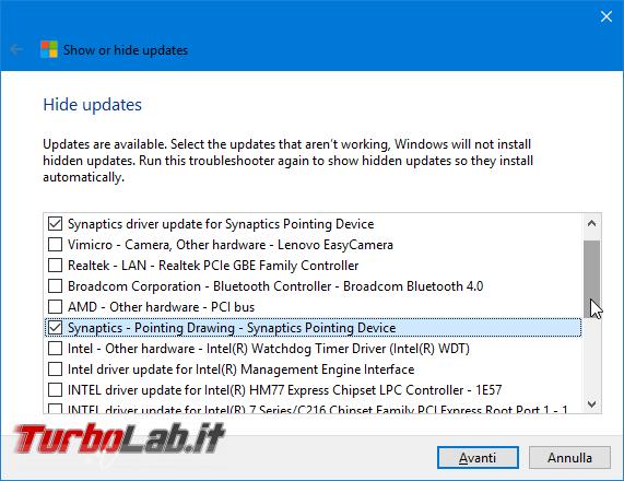 Guida Windows 10: come disinstallare/rimuovere driver difettoso bloccare reinstallazione automatica - Mobile_zShot_1486943004