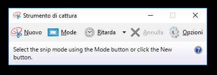 Guida Windows 10: come fotografare schermo (salvare/catturare screenshot) senza installare programmi aggiuntivi, tramite combinazione tastiera - Strumento di cattura screenshot Windows 10