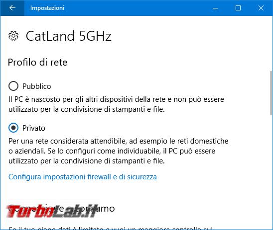 Guida Windows 10: come impostare connessione rete Pubblica Privata rendere PC individuabile rete locale (LAN)