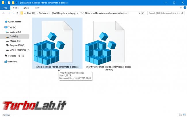 Guida Windows 10: come mantenere acceso schermo Schermata blocco (lock screen) ritardare spegnimento automatico