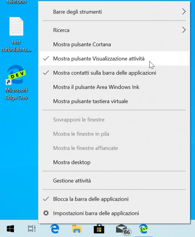 """Guida Windows 10: come rimuovere ricerca (""""Cortana"""") Barra applicazioni"""