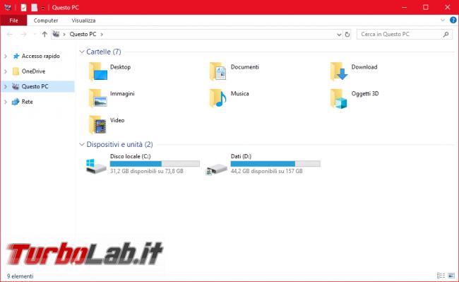 Guida Windows 10: come ripristinare/riattivare bordi colorati finestre - Mobile_zShot_1536349030