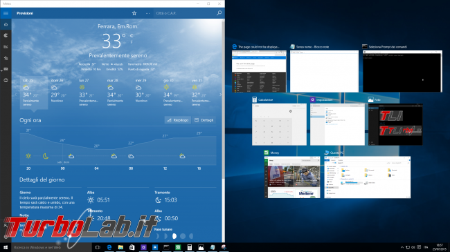 "Guida Windows 10: organizzare finestre ""Snap"" - windows 10 snap assist"