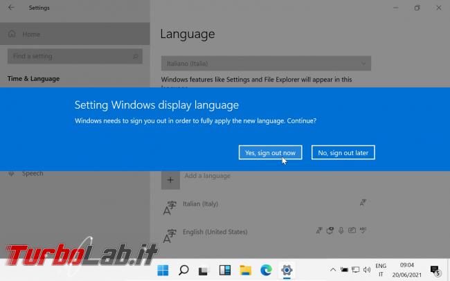 [guida] Windows 11 ITA - Come tradurre Windows 11 italiano (installare pacco lingua IT)