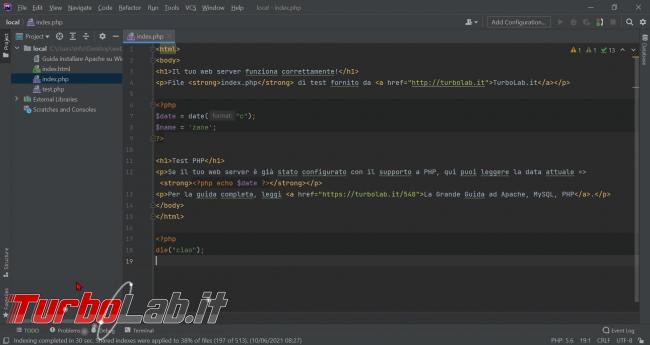 Guida Xdebug phpStorm: installazione, configurazione, breakpoint ed esecuzione step - Guida Definitiva debug PHP - zShotVM_1623485948