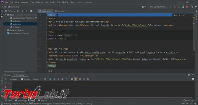 Guida Xdebug phpStorm: installazione, configurazione, breakpoint ed esecuzione step - Guida Definitiva debug PHP - zShotVM_1623488423