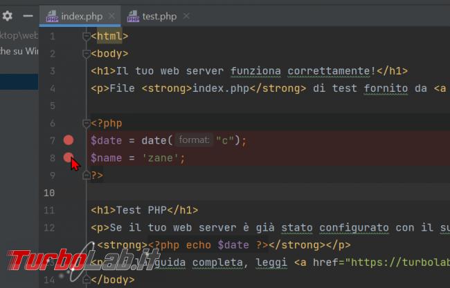Guida Xdebug phpStorm: installazione, configurazione, breakpoint ed esecuzione step - Guida Definitiva debug PHP - zShotVM_1623489306