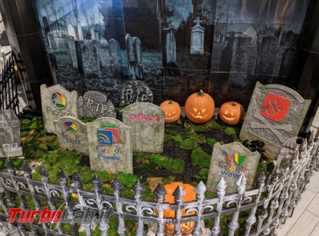 Halloween: Google vi invita cimitero servizi chiusi