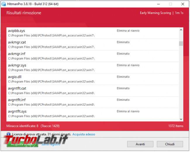HitmanPro seconda linea difesa contro malware