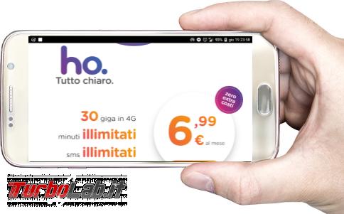 ho. mobile: configurazione Internet smartphone Android 3G/4G LTE (APN altri parametri) - ho mobile smartphone