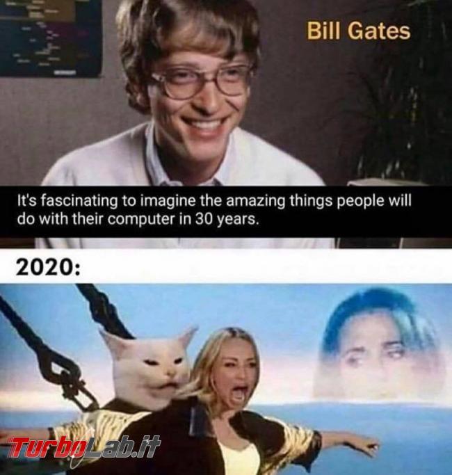 Humour meme informatici, programmatori smanettoni - amazing thing 30 years