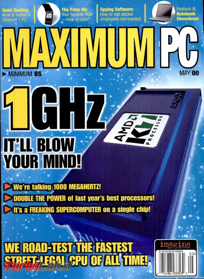 Humour meme informatici, programmatori smanettoni - maximium pc maggio 2000 amd 1 ghz