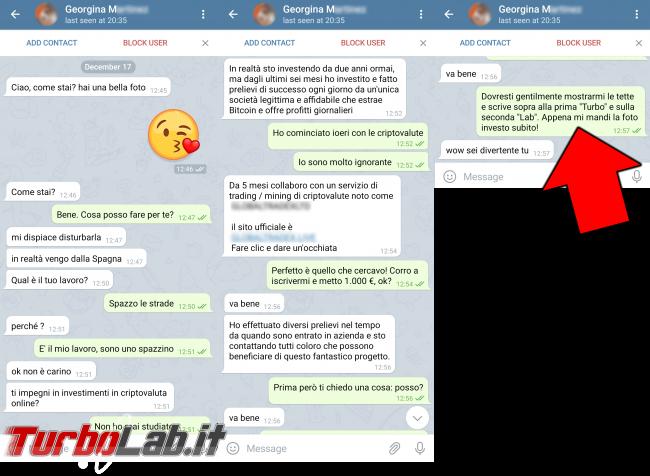 Humour meme informatici, programmatori smanettoni - scammer cripto su telegram