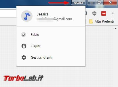 Importare ed esportare preferiti Google Chrome ( senza account Gmail)