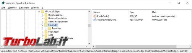 Importare preferiti Firefox Chrome Microsoft Edge