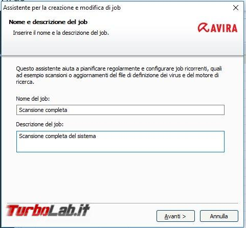 Impostazioni Avira Free: come configurarlo meglio bilanciare protezione performance