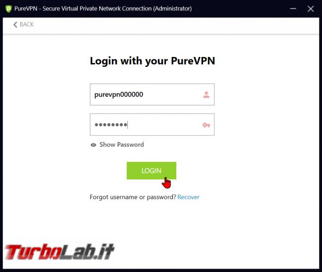 Impressioni prova PureVPN: velocità sicurezza buon servizio VPN anonimo, BitTorrent - zShotVM_1570729389