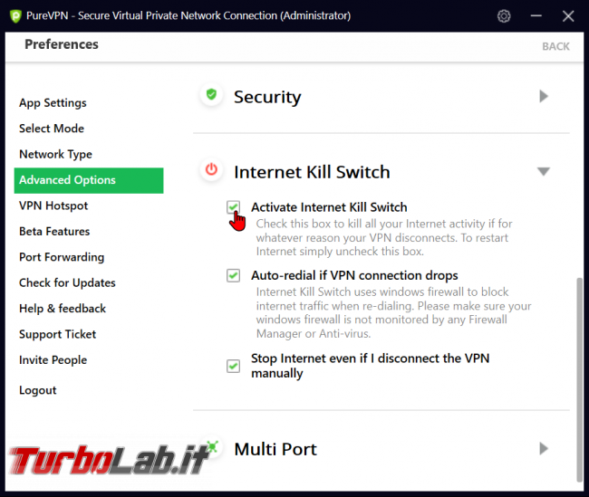 Impressioni prova PureVPN: velocità sicurezza buon servizio VPN anonimo, BitTorrent - zShotVM_1570736733