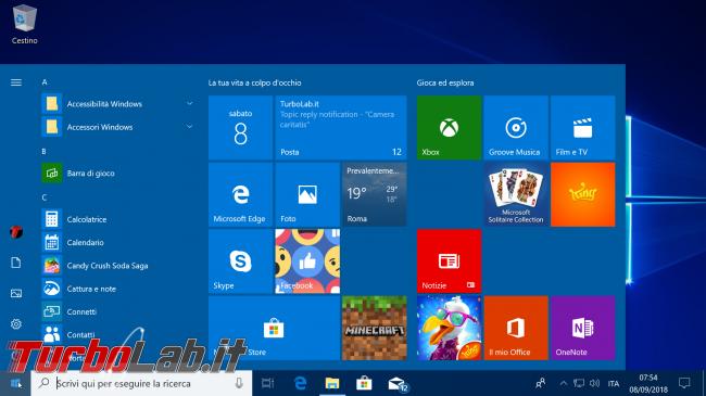 Ingrandire caratteri / testi schermo Windows 10: come fare?