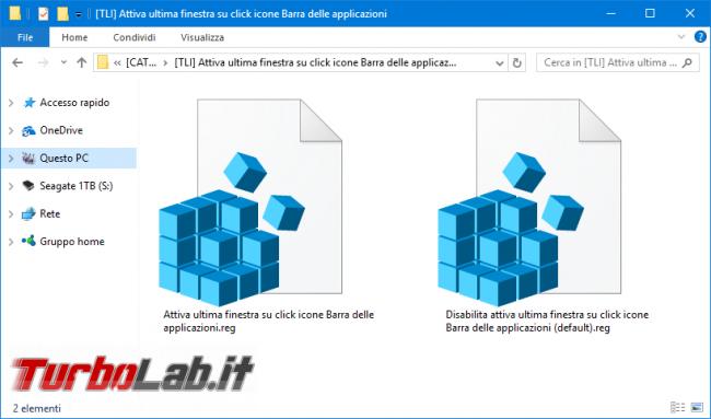 Ingrandire velocizzare anteprima finestre Barra applicazioni Windows 10, Windows 8.1, Windows 7