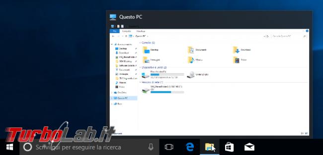 Ingrandire velocizzare anteprima finestre Barra applicazioni Windows 10, Windows 8.1, Windows 7 - Anteprima Barra delle applicazioni grande