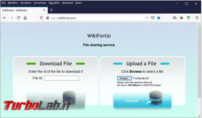 Inserire dati immagini forum TurboLab.it