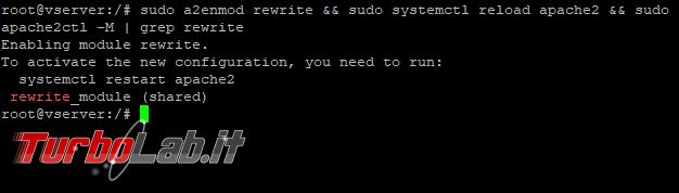 Installare attivare mod_rewrite Ubuntu Server, CentOS Windows (guida Apache)
