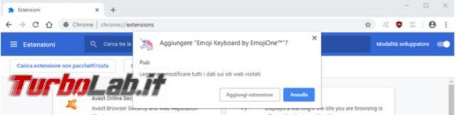 Installare estensioni Chrome computer offline non può raggiungere store