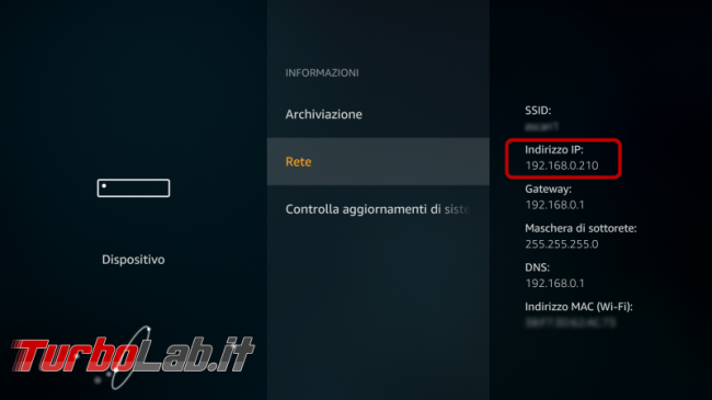 Installare Kodi Amazon Fire TV Stick Basic