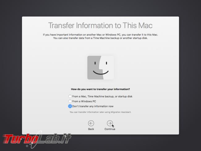 Installare macOS High Sierra VirtualBox Windows 10: Guida Definitiva italiano - VirtualBox_macOS_08_10_2017_23_24_05