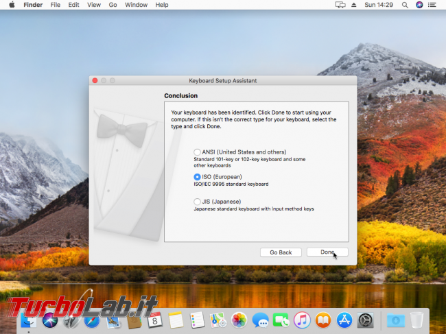 Installare macOS High Sierra VirtualBox Windows 10: Guida Definitiva italiano - VirtualBox_macOS_08_10_2017_23_29_34