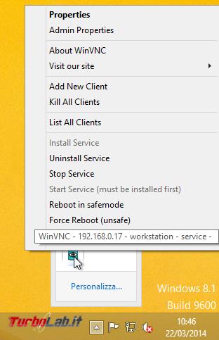 Installare UltraVNC controllare PC Windows remoto - ultravnc_settings_01