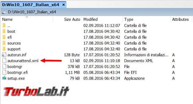 Installare Windows 10 automaticamente: guida creazione file personalizzati l'installazione non presidiata (unattended)