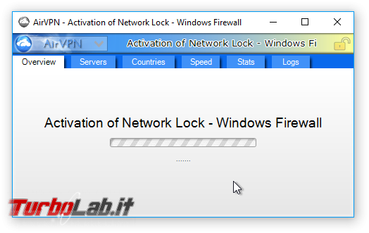 Internet/BitTorrent anonimo: Grande Guida VPN - AirVPN - Activation of Network Lock - Windows Firewall