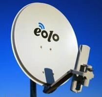Internet veloce fuori città (alternativa senza L): esperienza EOLO - antenna parabola home eolo
