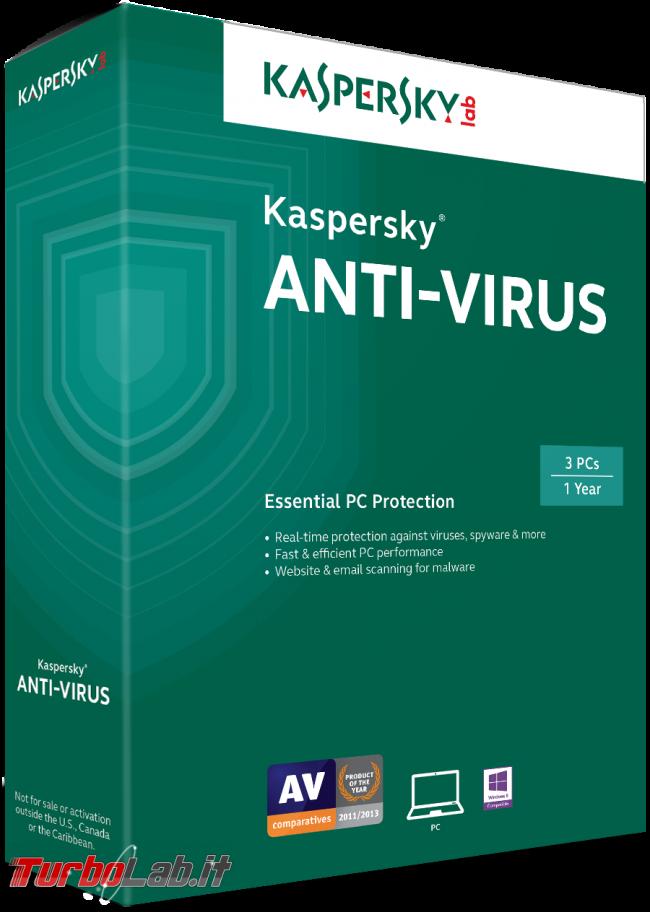 Kaspersky Free, download prova 2017: antivirus gratis funziona bene protegge PC gratuitamente (test completo) - kaspersky_antivirus